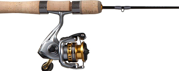 Shimano Adds Sedona Ice Fishing Combos