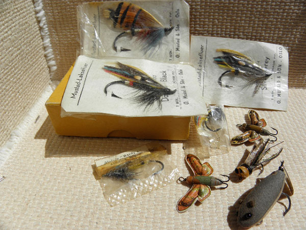 Antique Fly Lures