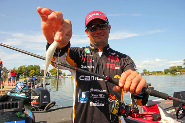 Matt Lee's Jumbo Sized Drop-Shot Lure Made a Difference