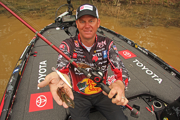 VanDam's 3 Top Lures for Early Spring
