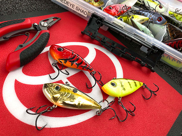 Kevin VanDam's Three Favorite Lipless Crankbait Colors