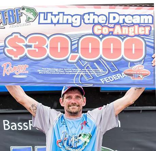 Fuchs wins TBF Dream Package and Entries to All-American and FLW Series