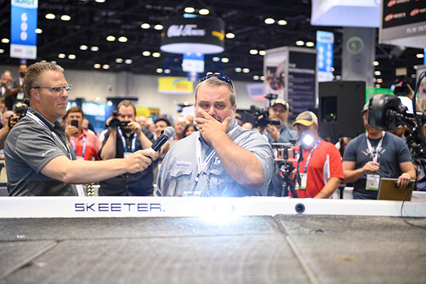 War Veteran, BASS Youth Director Surprised with Boat Overhaul at ICAST