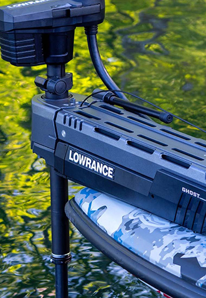 Lowrance's New Brushless Trolling Motor is Quiet and Powerful