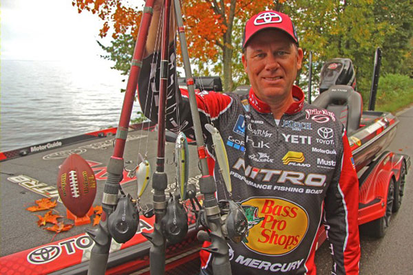 Kevin VanDam's Three Favorite Lures for Fall Reservoirs