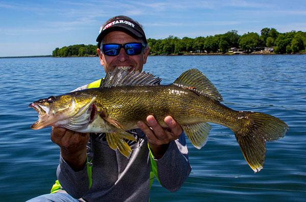 Target High-Percentage Transitions for Walleyes All Summer