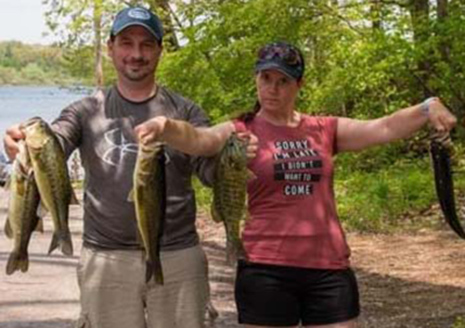 Pine/Stone Produce Good Catches in Casting Couples Opener