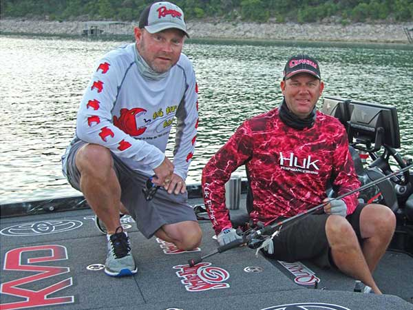 McClelland and VanDam Feel at Home on Lake Travis