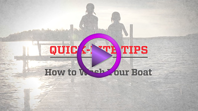 QuickBite Tips: Washing Your Boat