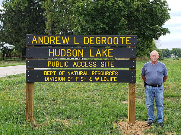 Jack DeGroote Gives Back with Hudson Access