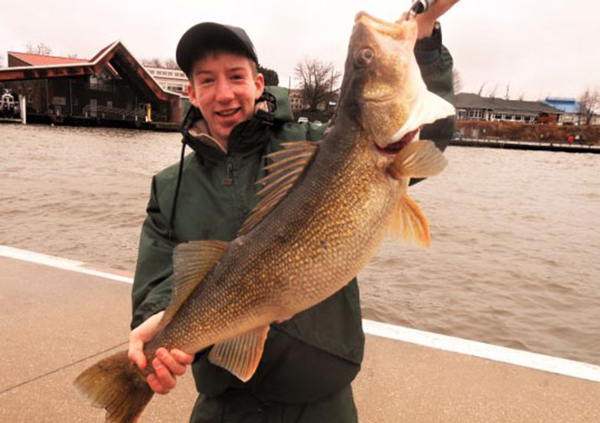 Giant Walleye Wins Indiana 'Fish of the Year'