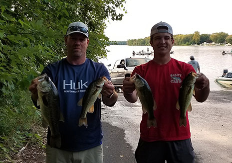 Oldenberg's Win Tough Arjay's Wednesday Event on Portage Lake