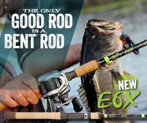 G. Loomis E6X Rods
