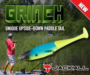 Grinch - Unique Upside-Down Paddle Tail