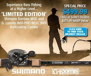 Shimano Bantam MGL & G. Loomis IMX-Pro 836C